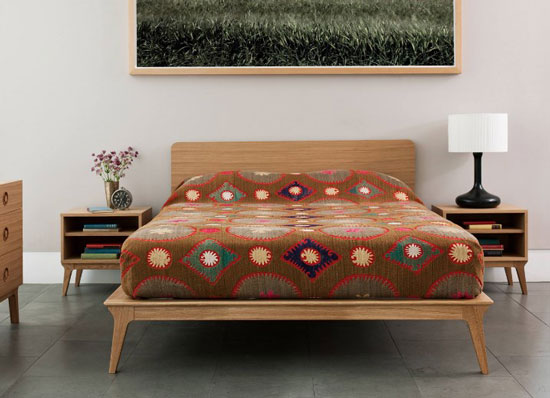 bed mid century