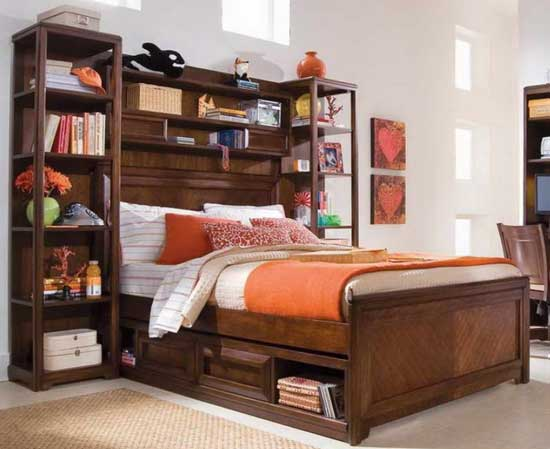bookcase mattress frame