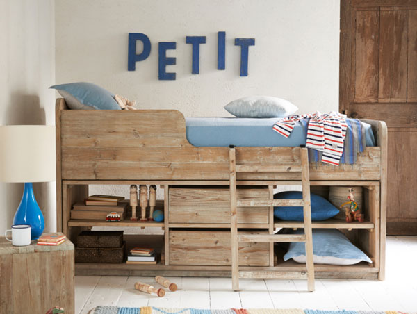 cabin bunk bed for kids