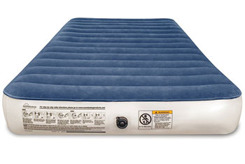 camping series twin airbed front