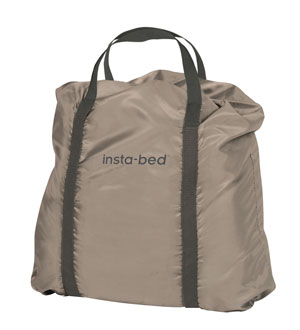 carry bag of insta bed never-flat raised queen air mattress