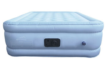 choice by airmattress blue queen airbed