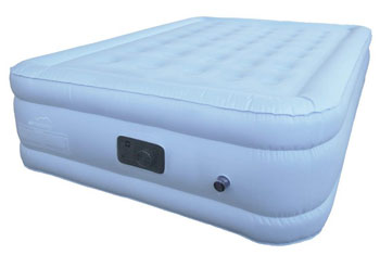 choice queen size air mattress side view