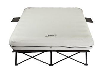 coleman queen air mattress cot