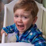 crying toddler coughing at night