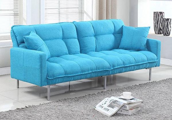 divano roma futon llight blue
