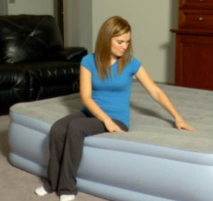 edge support of simmons beatutyrest air mattress