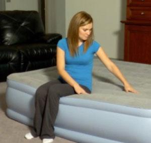 edge support of simmons beatutyrest air mattress