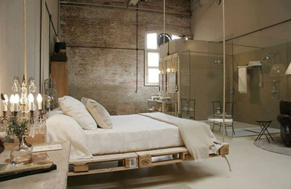 hanging suspended bed