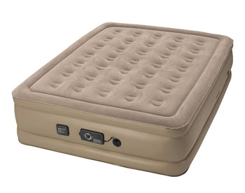 insta bed raised air mattress with never flat pump