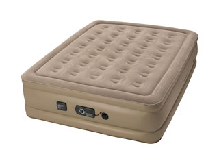 Insta-bed Raised air mattress with Never Flat pump – 2019 review update