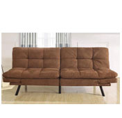 mainstays brown sofa
