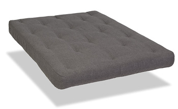 serta chestnut futon mattress gray