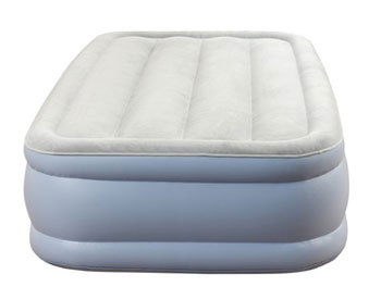 dream series twin size air mattress profile