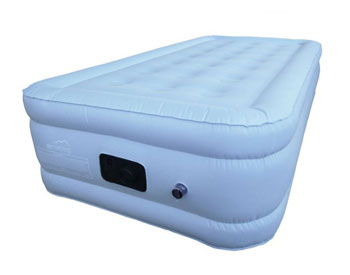 sky blue twin extra long airbed