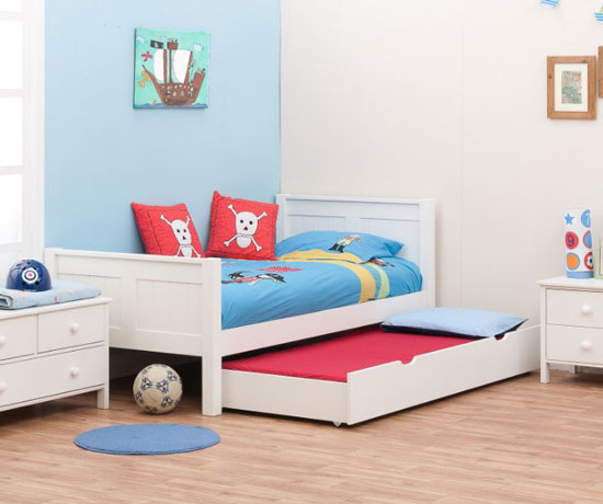 trundle kid bed