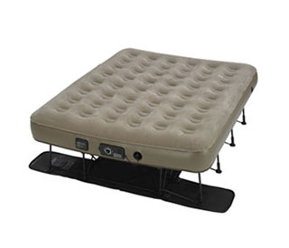 Air mattress with frame and legs – top 4 rated in 5 quality aspects – 2021 update