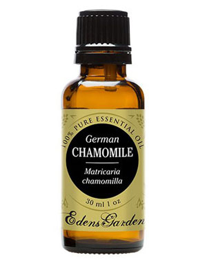 essential oil for sleep german chamomile