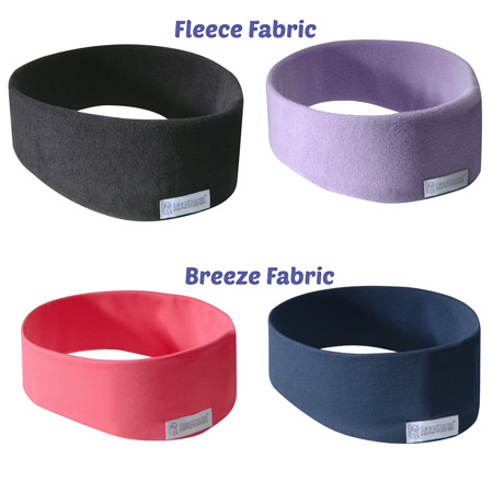 fleece and breeze fabric of sleepphones comparison