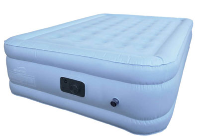 king size air mattress unboxing inflation
