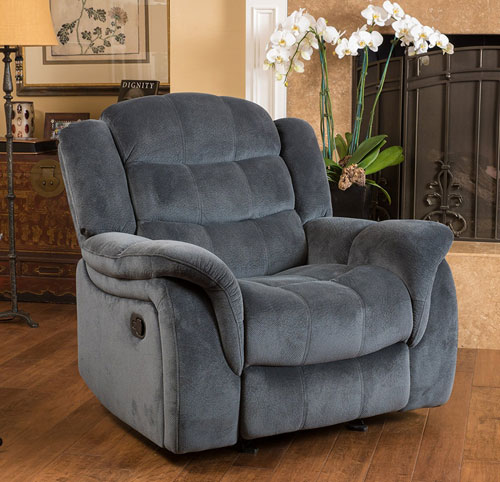 merit recliner gray - voted best recliner for sleeping