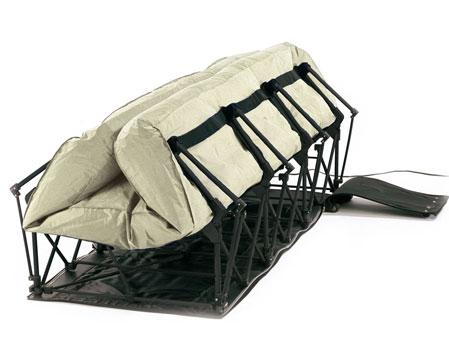 serta airbed legs unfolding