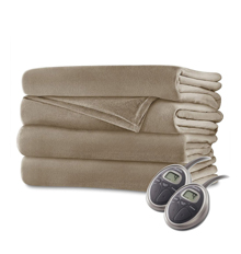 sunbeam king size heated electric blanket