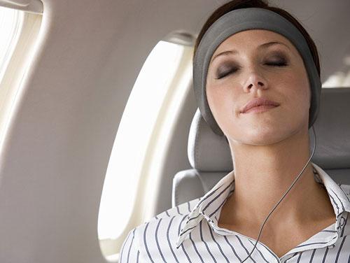 wearing the acousticsheep sleepphones