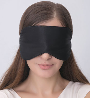 alaska bear sleep mask - voted best for back sleepers