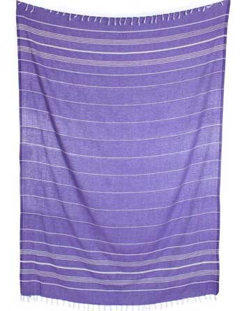 cacala turkish beach blanket purple