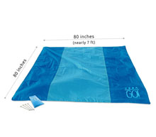 item 7 go waterproof blanket throw
