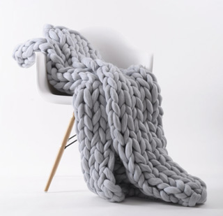 Knitted Blankets Tested Chunky Amp Cable Knit Crochet