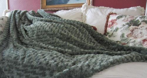 magic weighted sensory blanket gray