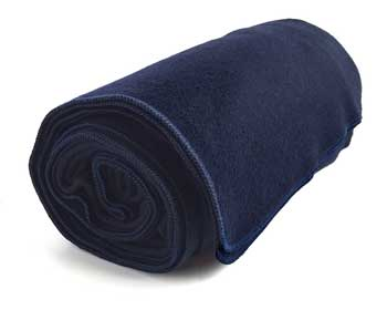 ektos military wool blanket navy blue