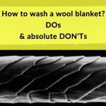 how to wash wool blanket banner