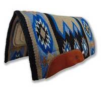 navajo wool saddle blanket