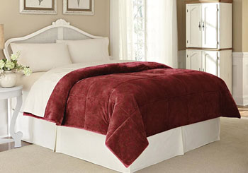 vellux lux king size blanket