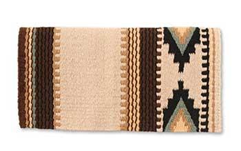western saddle wool blanket mayatex
