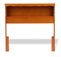barrister malasian oak bookcase headboard queen