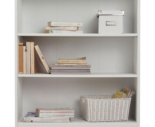 sagging of bookcase shelves under weight