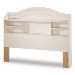 south shore bookcase headboard vanilla white