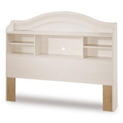 south shore bookcase headboard vanilla white