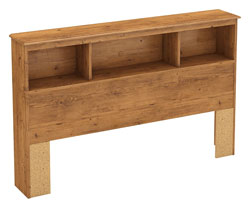 south shore little treasures full solid wood headboard bookcase