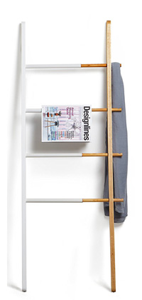 umbra white wooden ladder