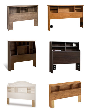 bookcase headboard collage twin full queen king sizes
