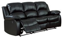 home elegance black sofa