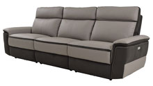 homelegance laertes power reclining couch
