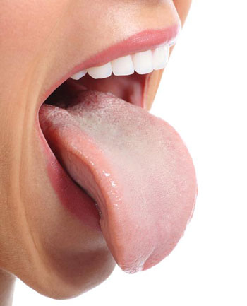 open mouth tongue proportion
