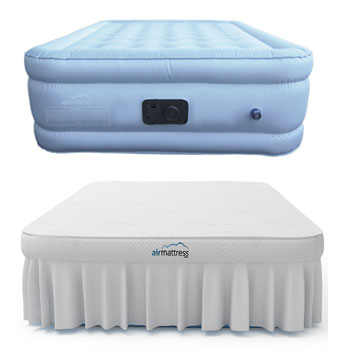 bamboo cover air mattress