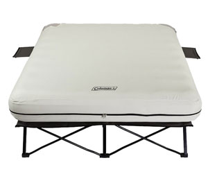 coleman cot - voted most comfortable for camping